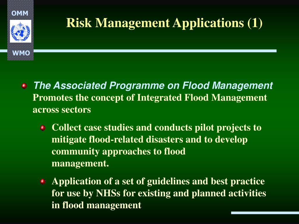Risk Management Applications (1)