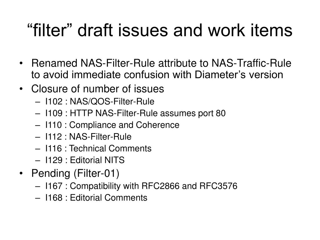 """""""filter"""" draft issues and work items"""