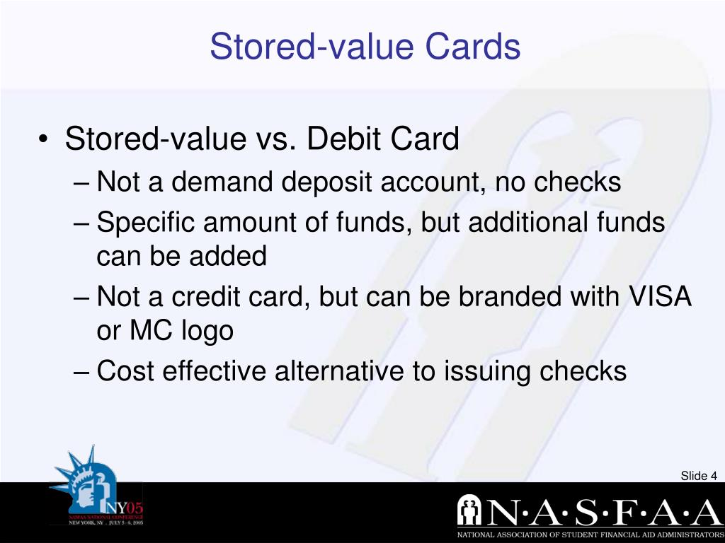 Stored-value Cards
