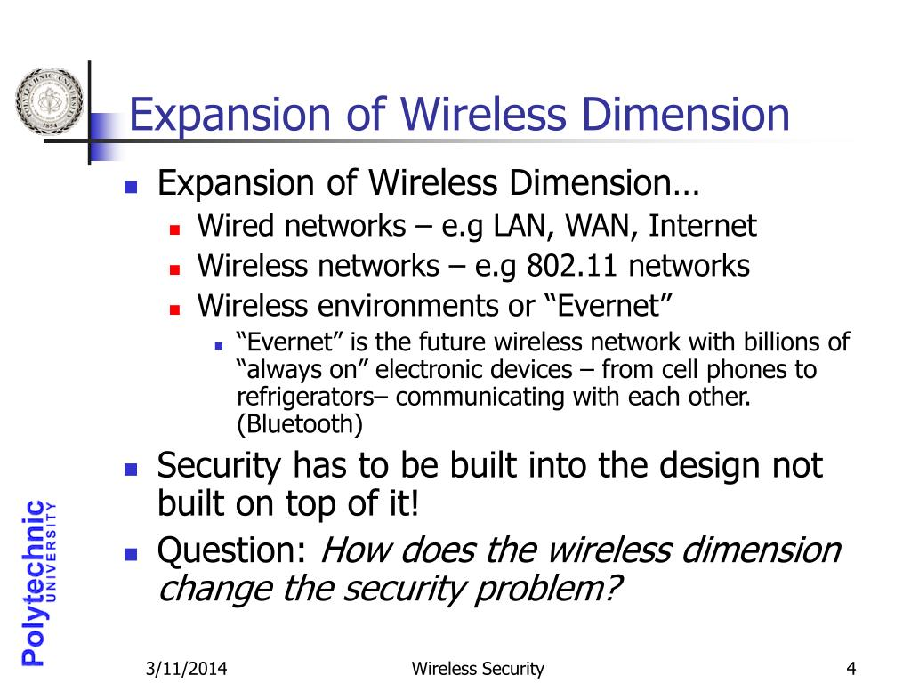 Expansion of Wireless Dimension