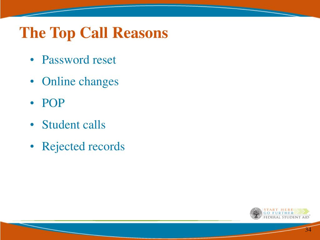 The Top Call Reasons