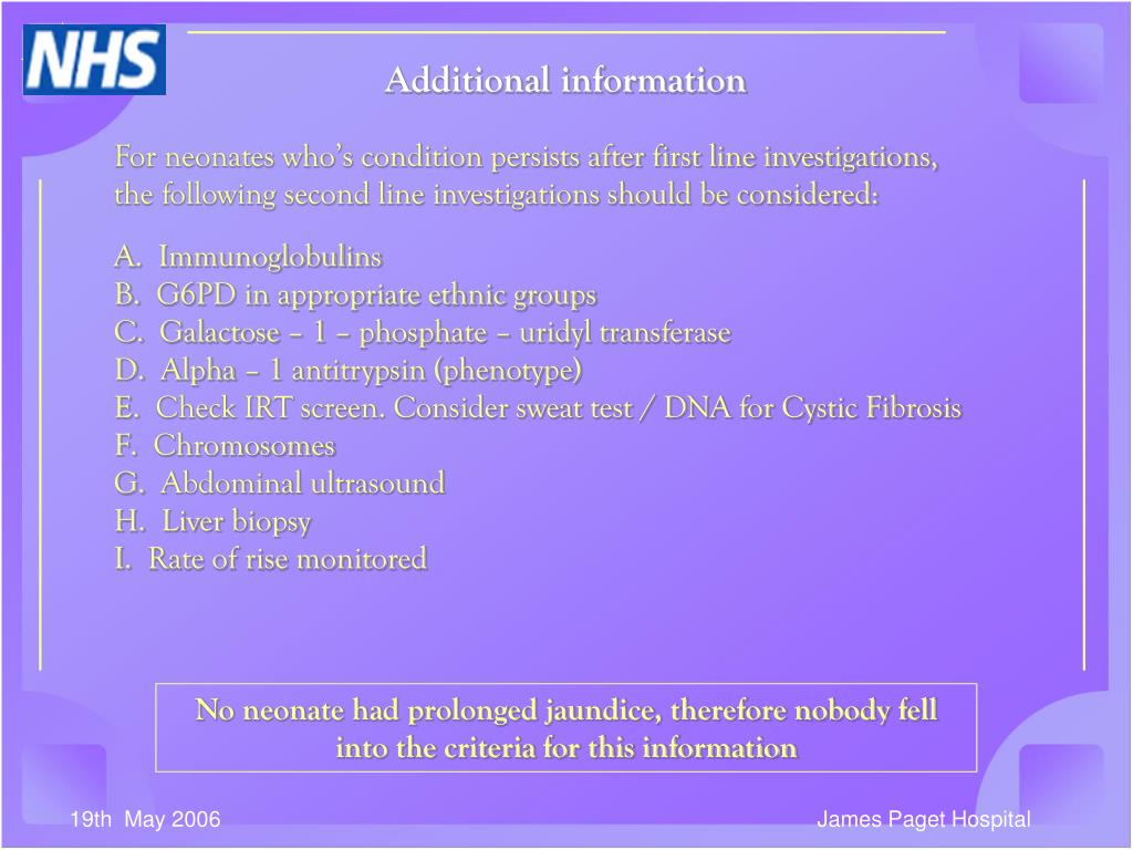 Additional information