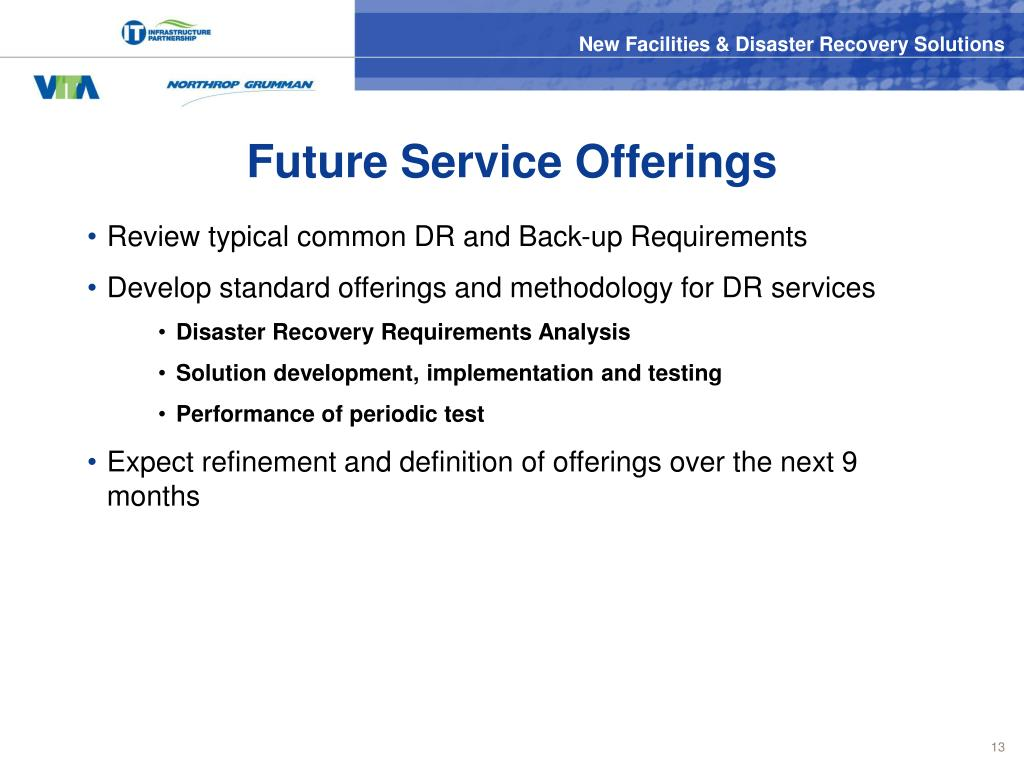 Future Service Offerings