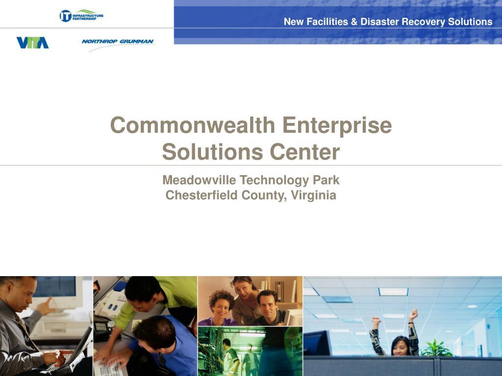 Commonwealth Enterprise Solutions Center