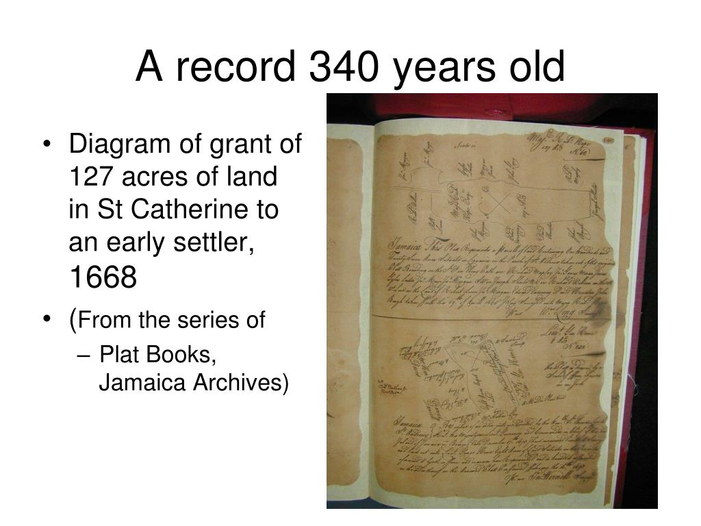 A record 340 years old