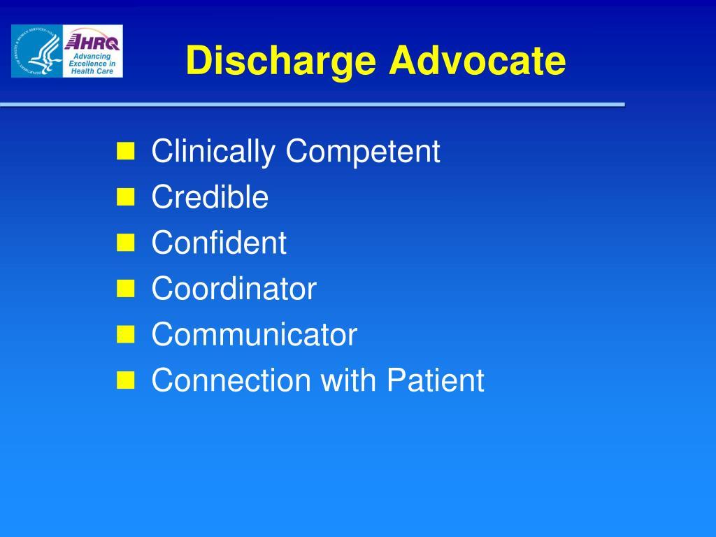 Discharge Advocate