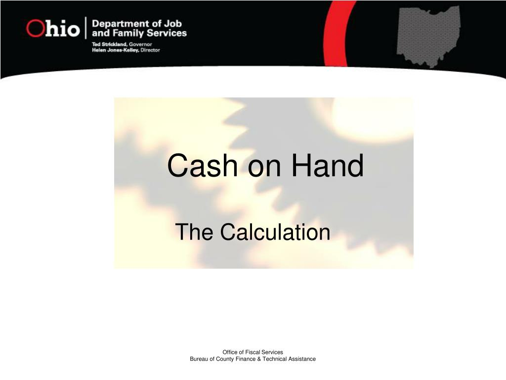 Cash on Hand