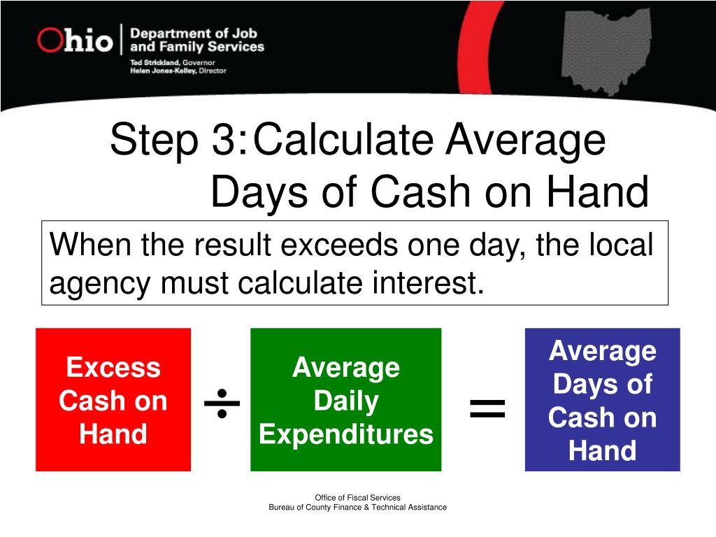 Step 3:Calculate Average