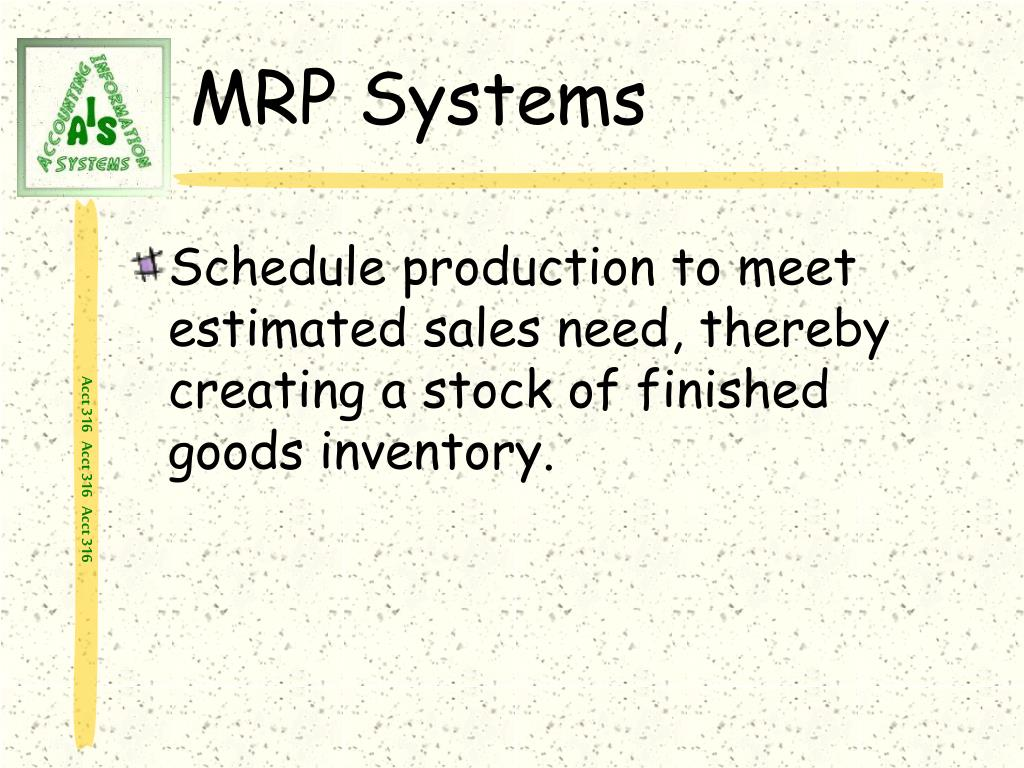 MRP Systems