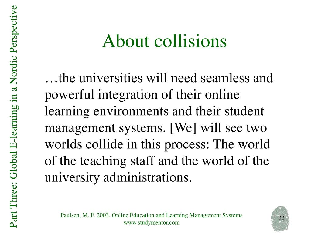 About collisions