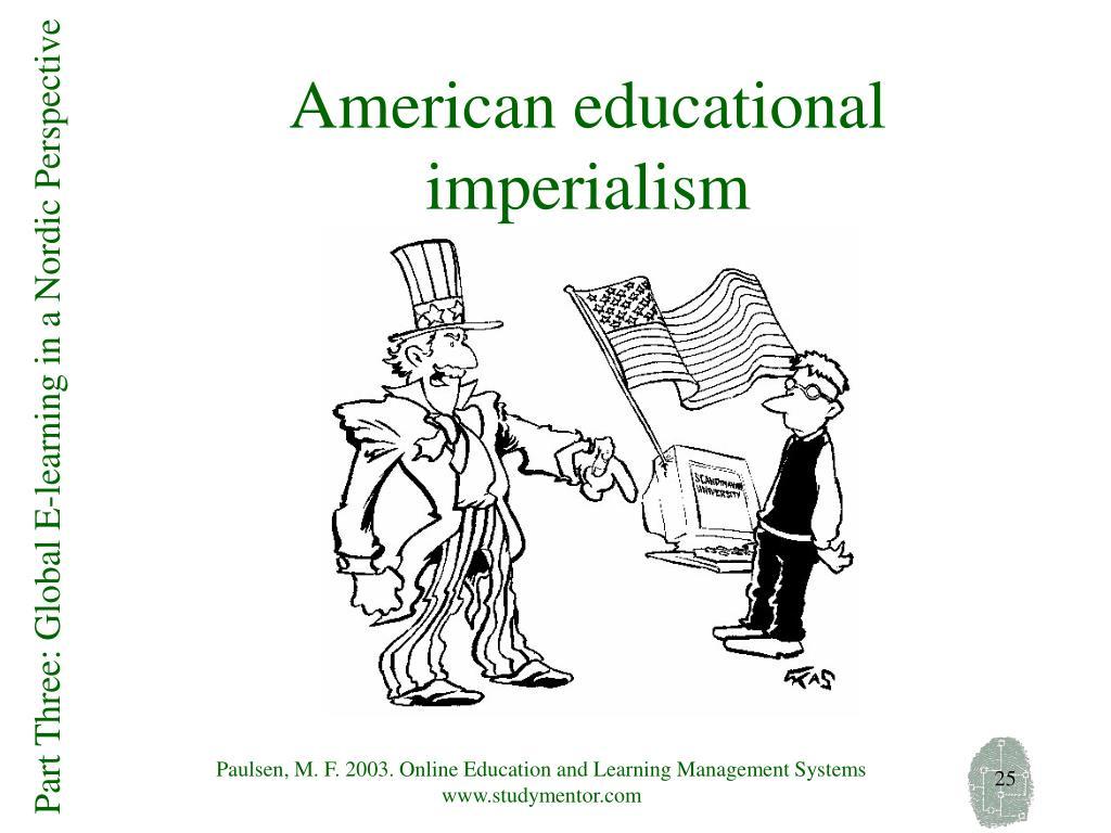 American educational imperialism