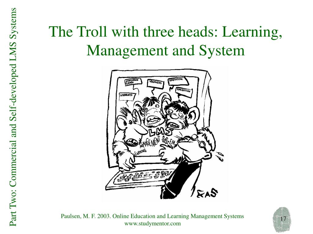 The Troll with three heads: Learning, Management and System