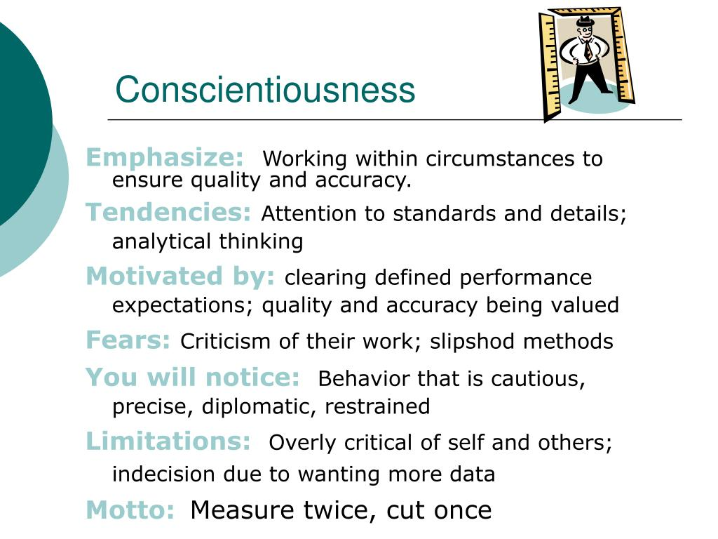 Conscientiousness