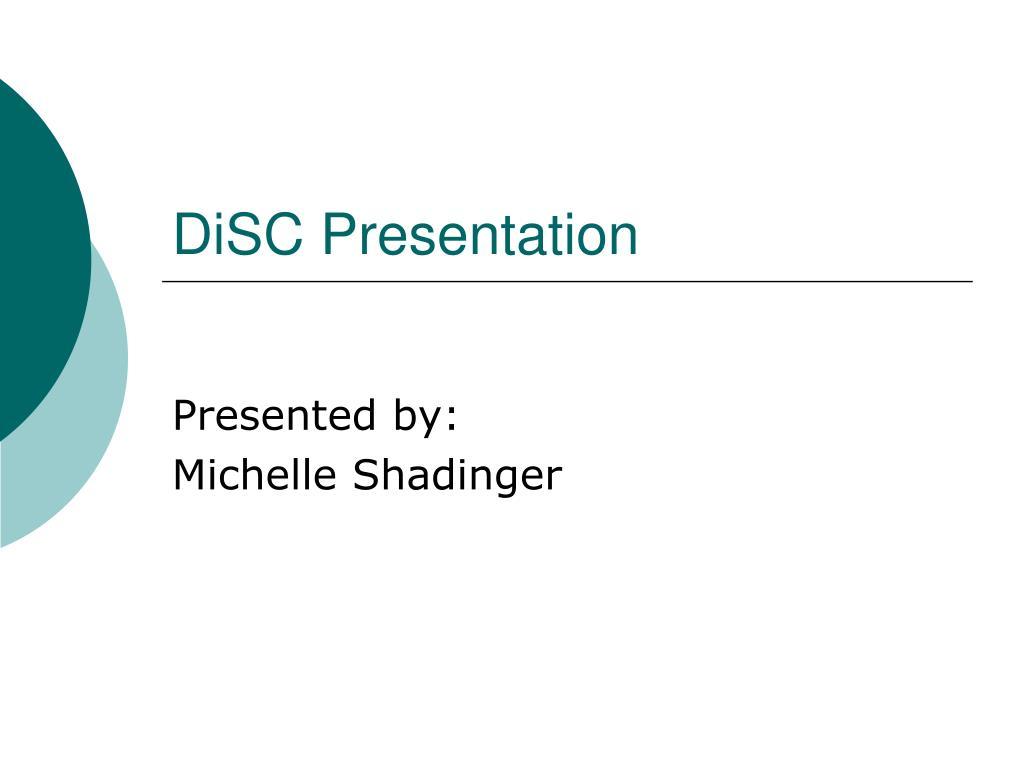 DiSC Presentation