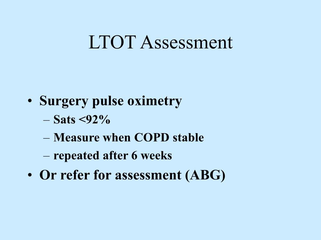 LTOT Assessment