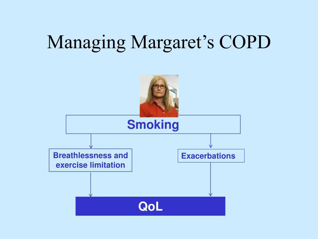 Managing Margaret's COPD