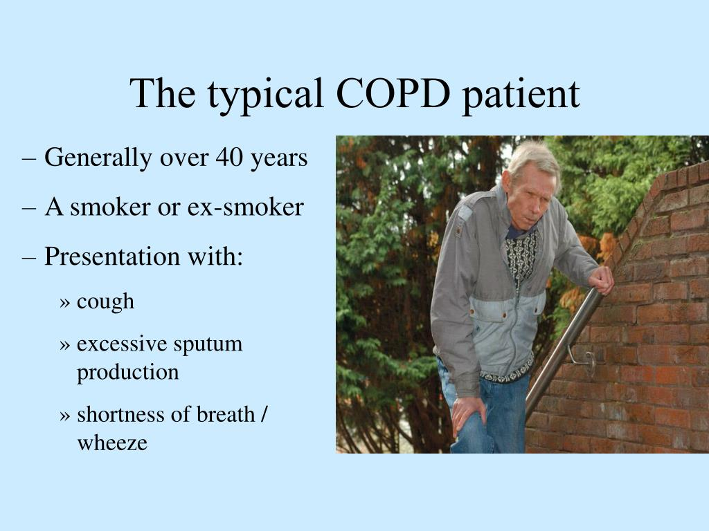 The typical COPD patient