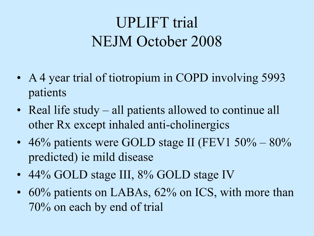UPLIFT trial