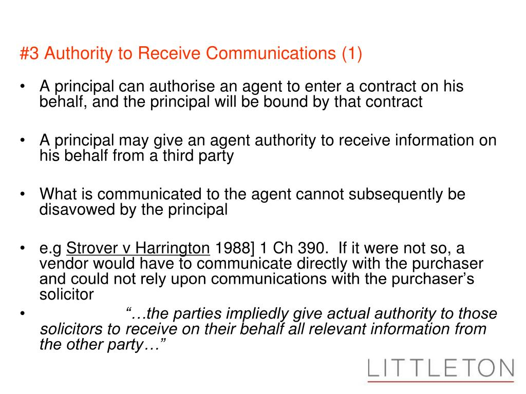#3 Authority to Receive Communications (1)