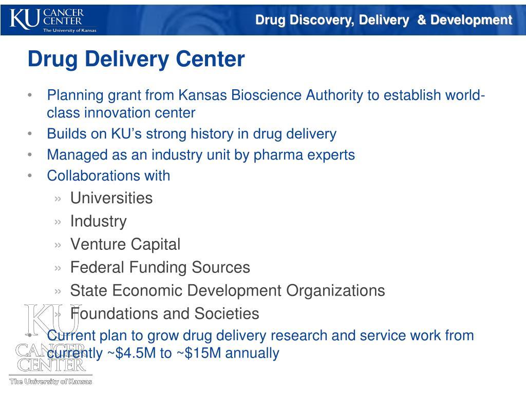 Drug Delivery Center