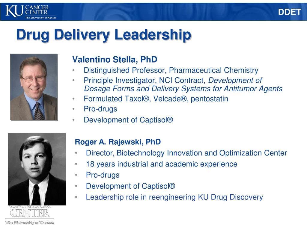 Drug Delivery Leadership