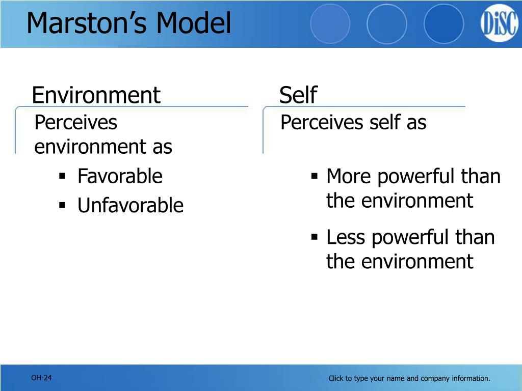 Marston's Model