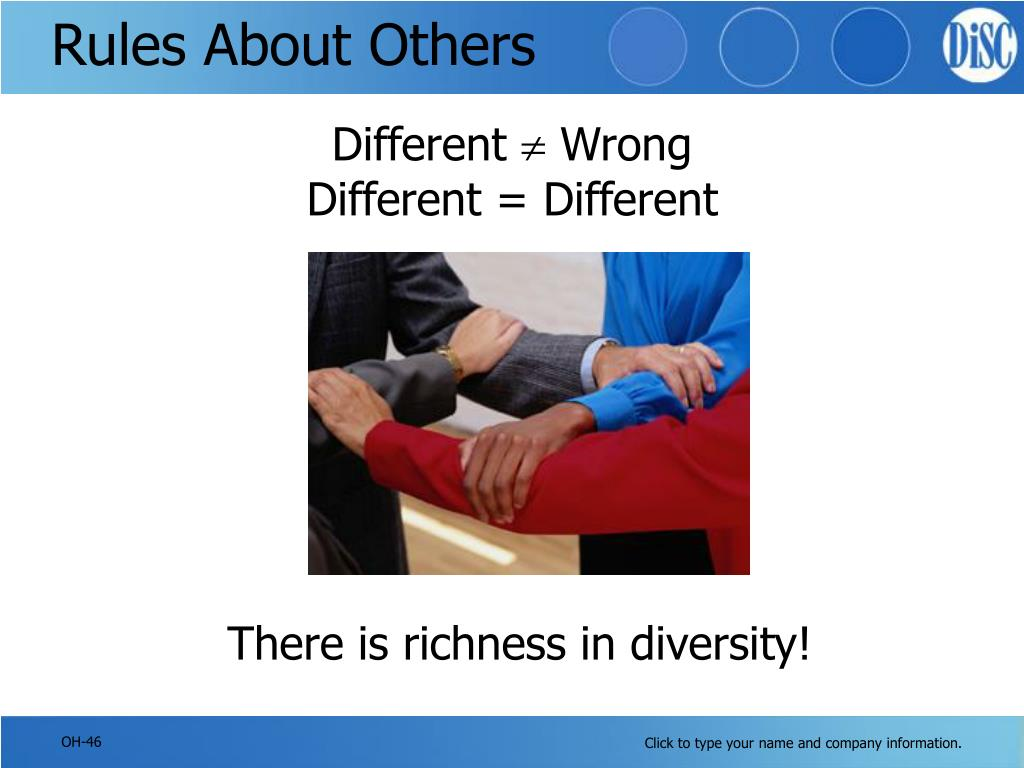 Rules About Others
