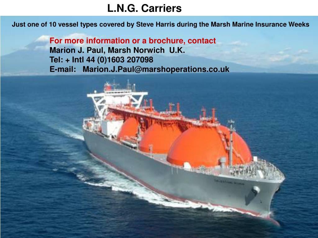 L.N.G. Carriers
