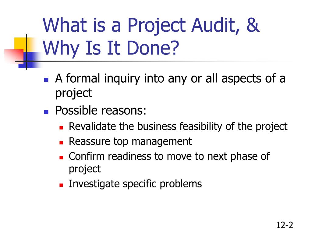 What is a Project Audit, & Why Is It Done?