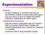 experimentation1