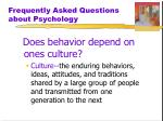 frequently asked questions about psychology1