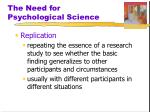 the need for psychological science6