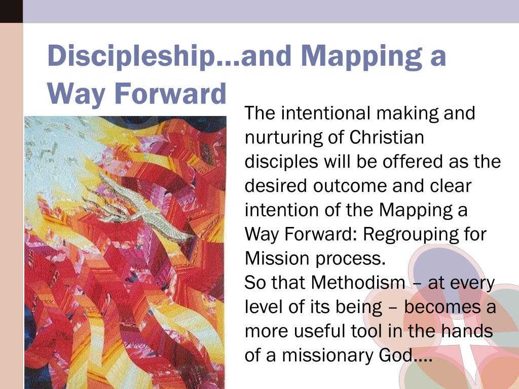 Discipleship…and Mapping a Way Forward