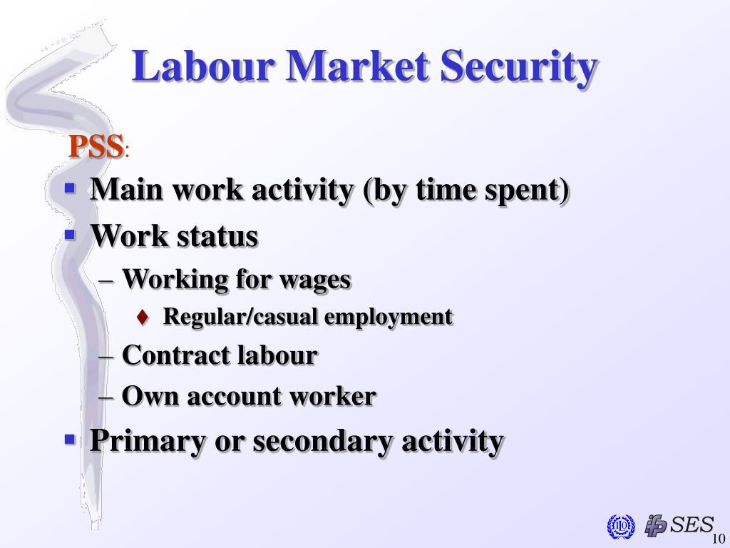 Labour Market Security