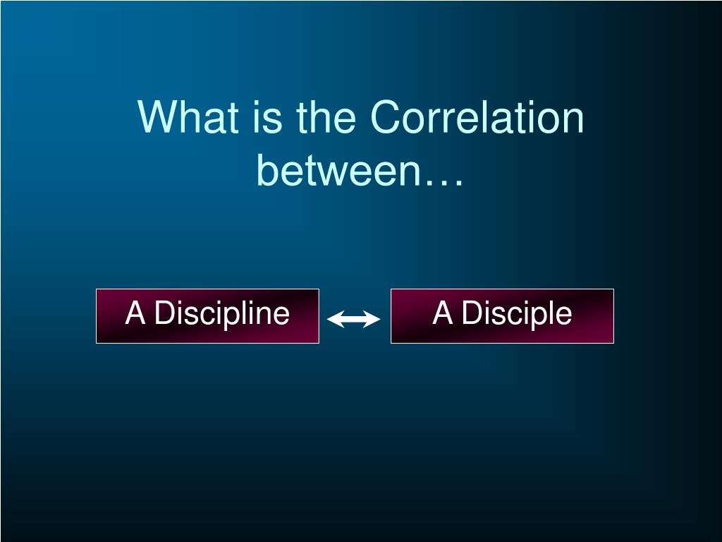 What is the Correlation between…