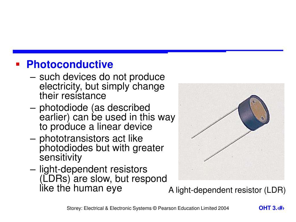 Photoconductive
