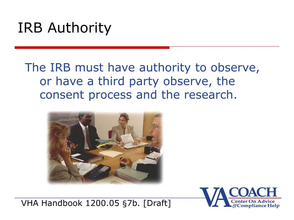 IRB Authority