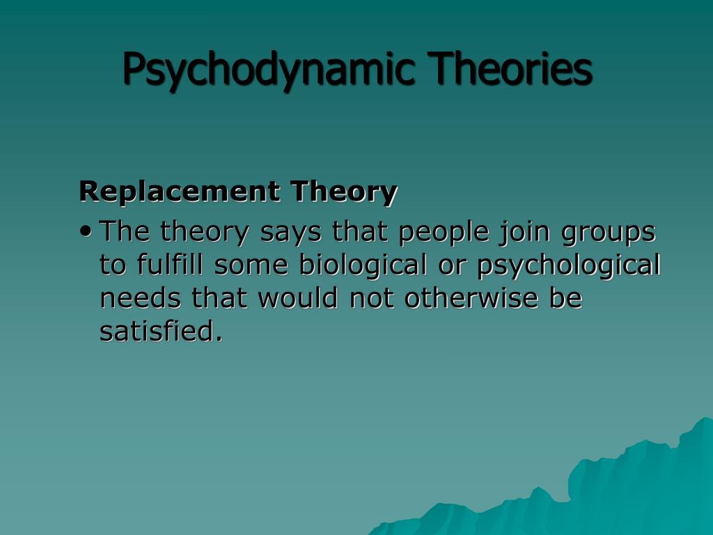 psychodynamic frq