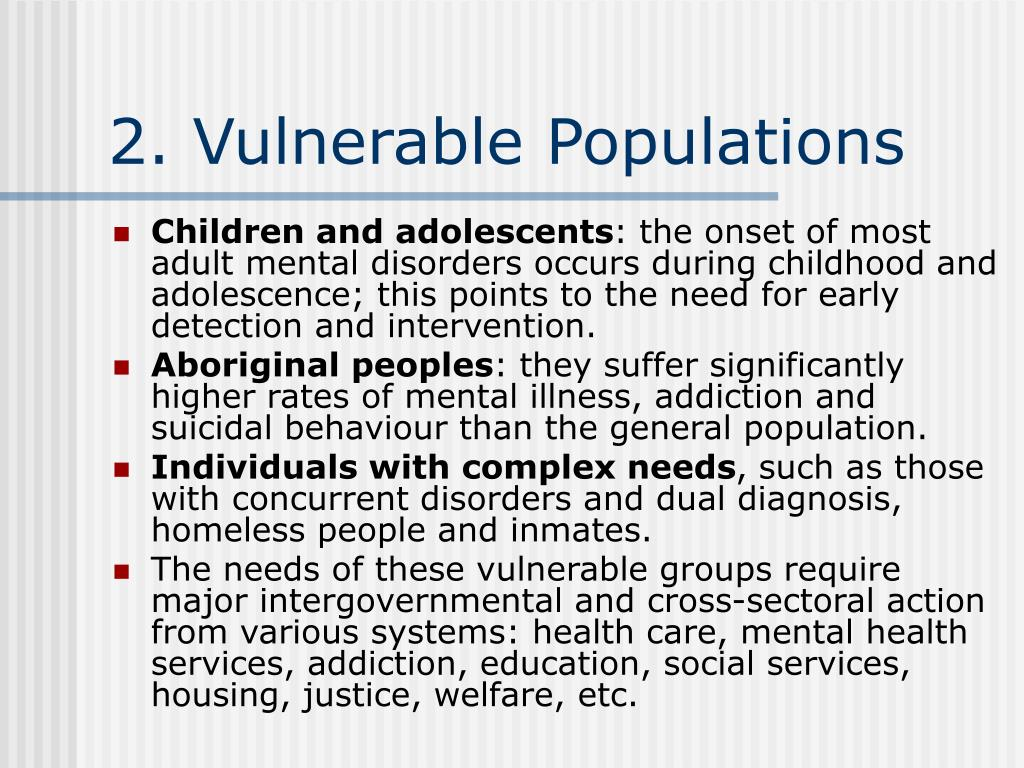 health social care mental addictions homelessness adult community service