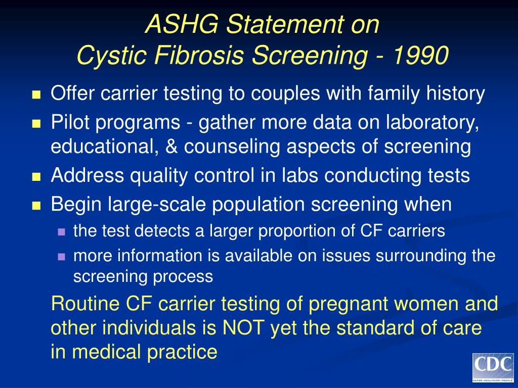 ASHG Statement on