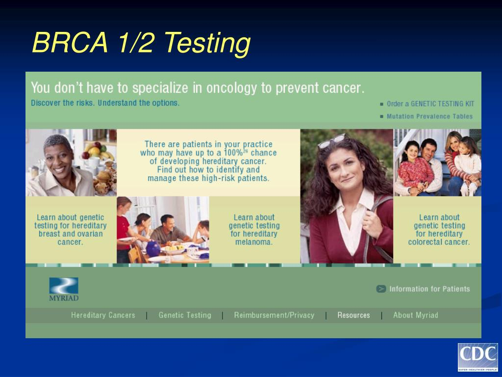BRCA 1/2 Testing