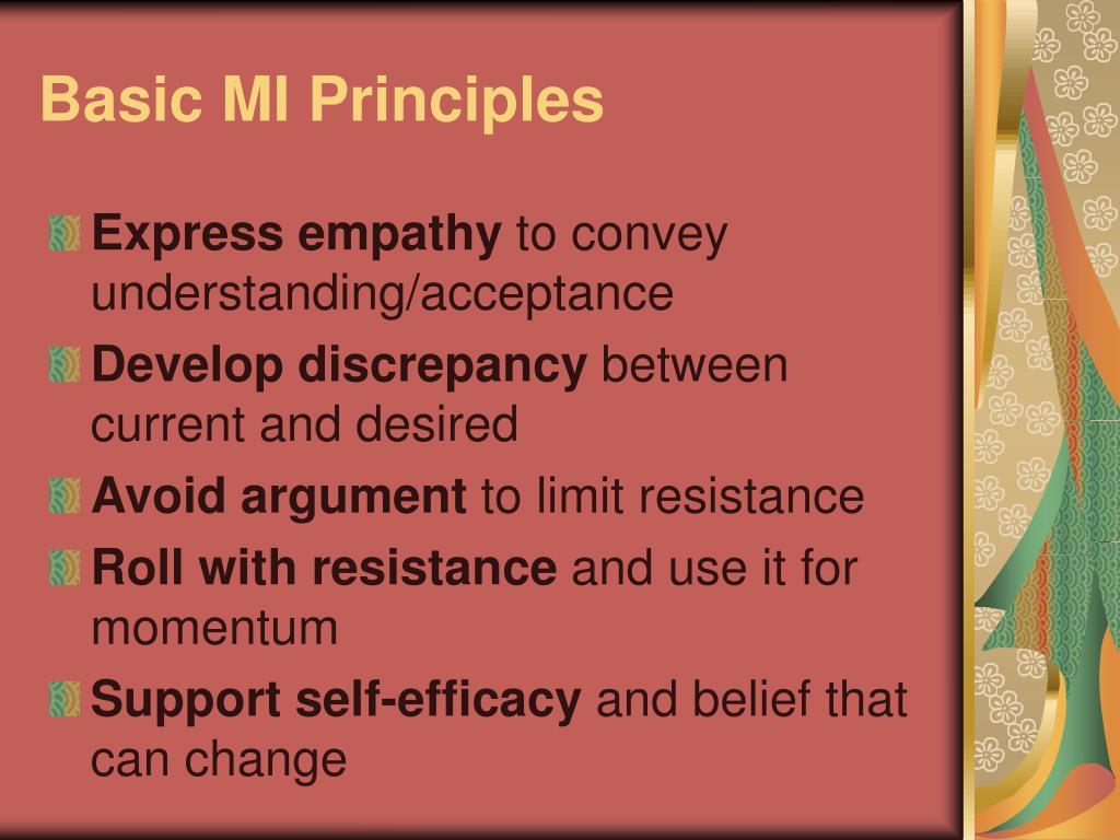 Basic MI Principles