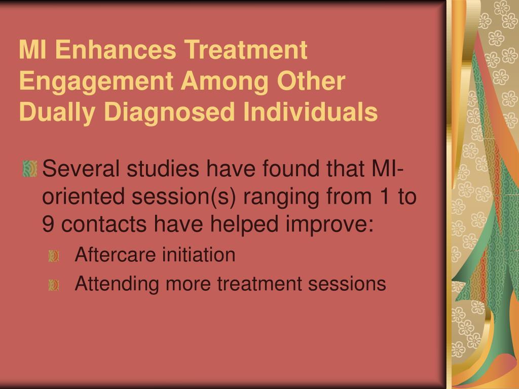 MI Enhances Treatment