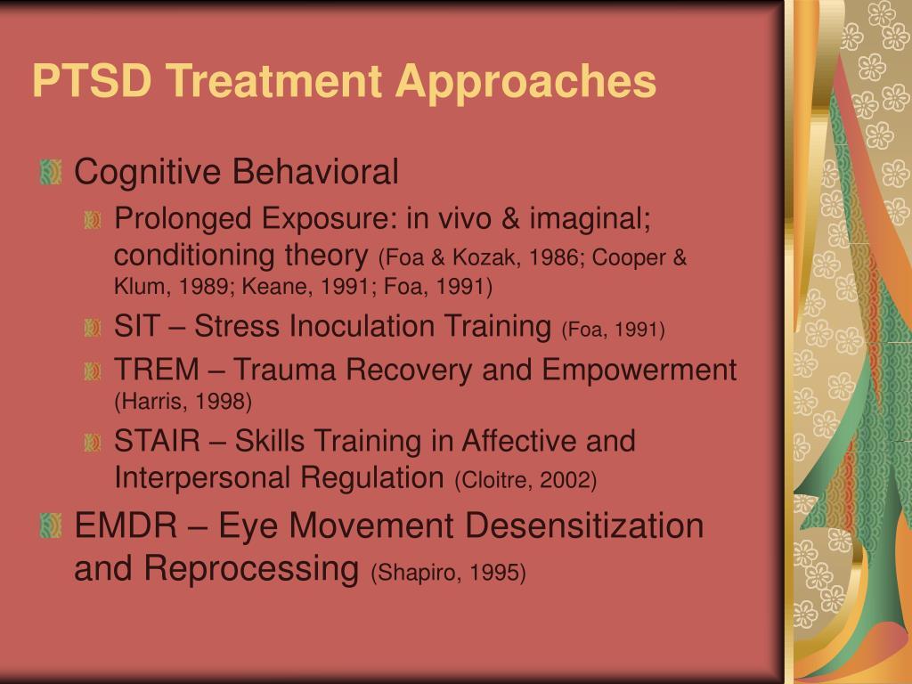 PTSD Treatment Approaches