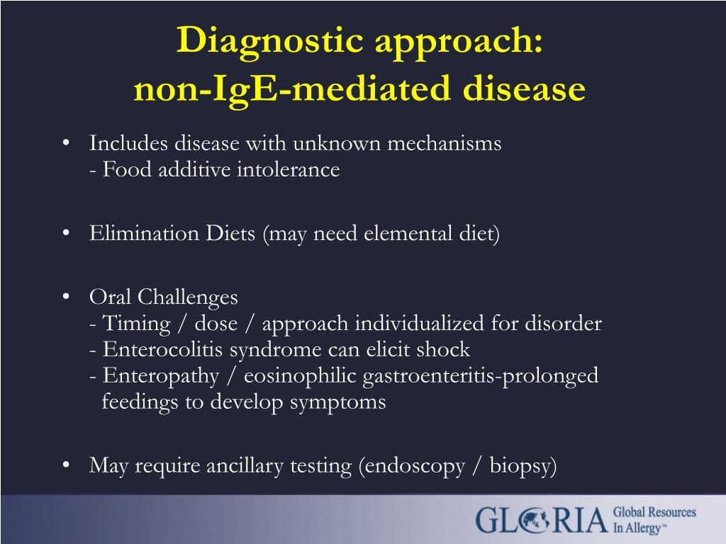 Diagnostic approach: