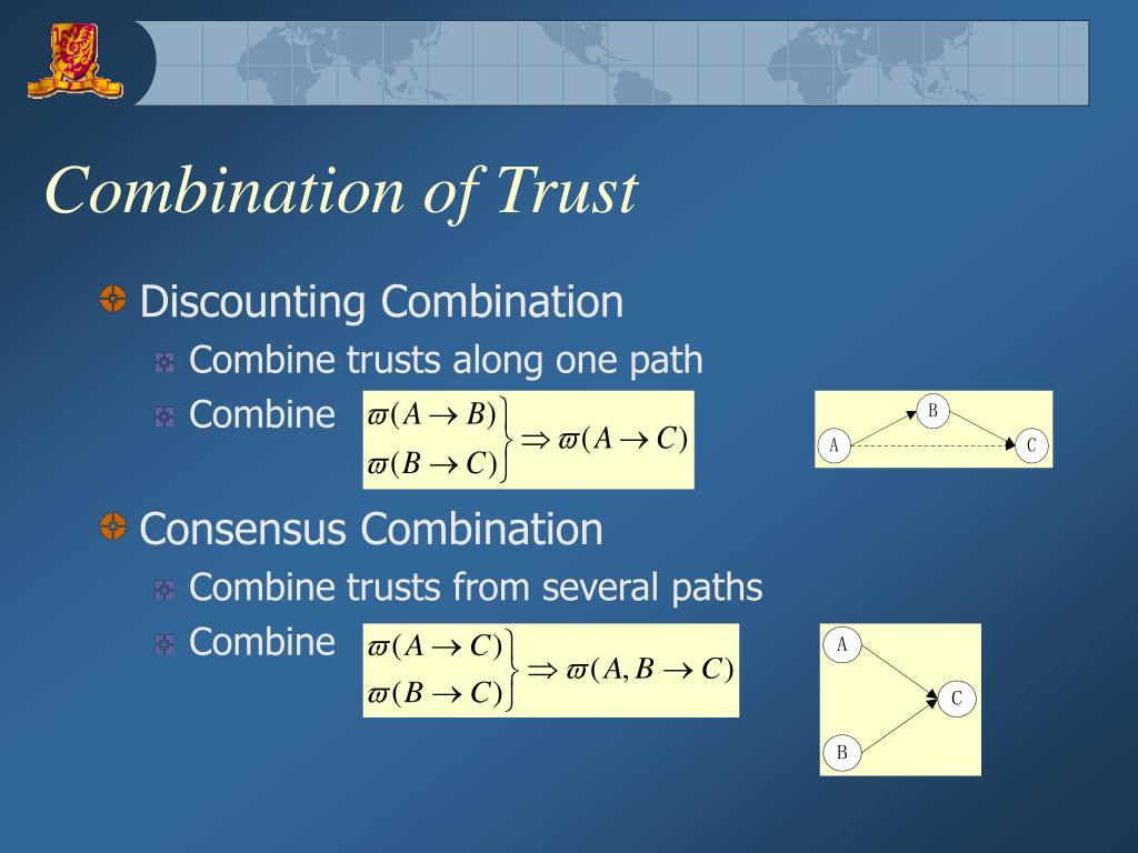 Combination of Trust