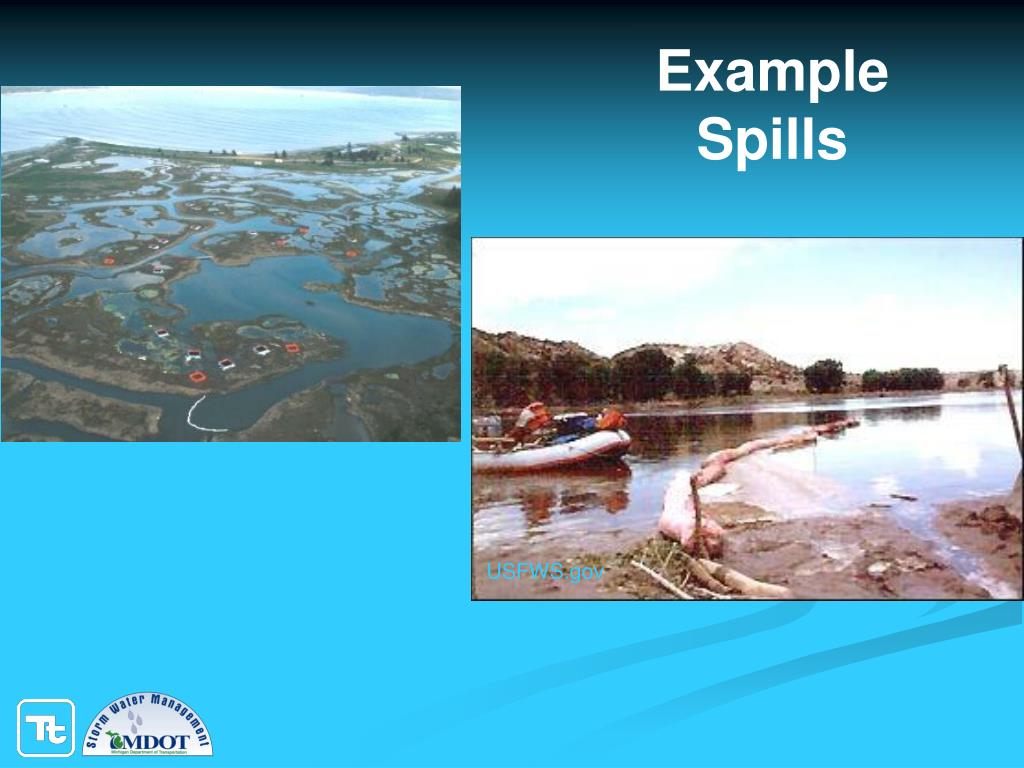 Example Spills