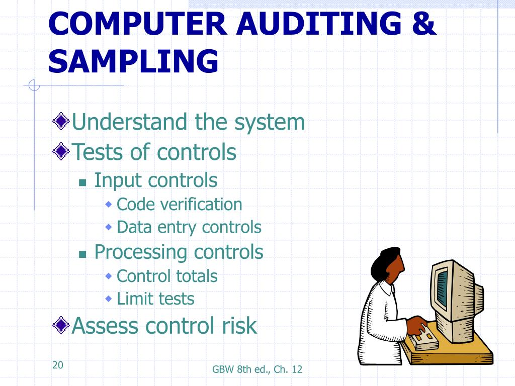 auditing chap 12 In this lesson, we discuss the role and impact of auditing standards ch 1 auditing standards & governance generally accepted government auditing standards: ch 12 unique purchasing & procurement.