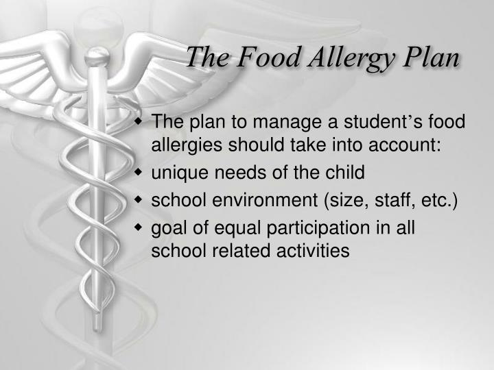 The Food Allergy Plan