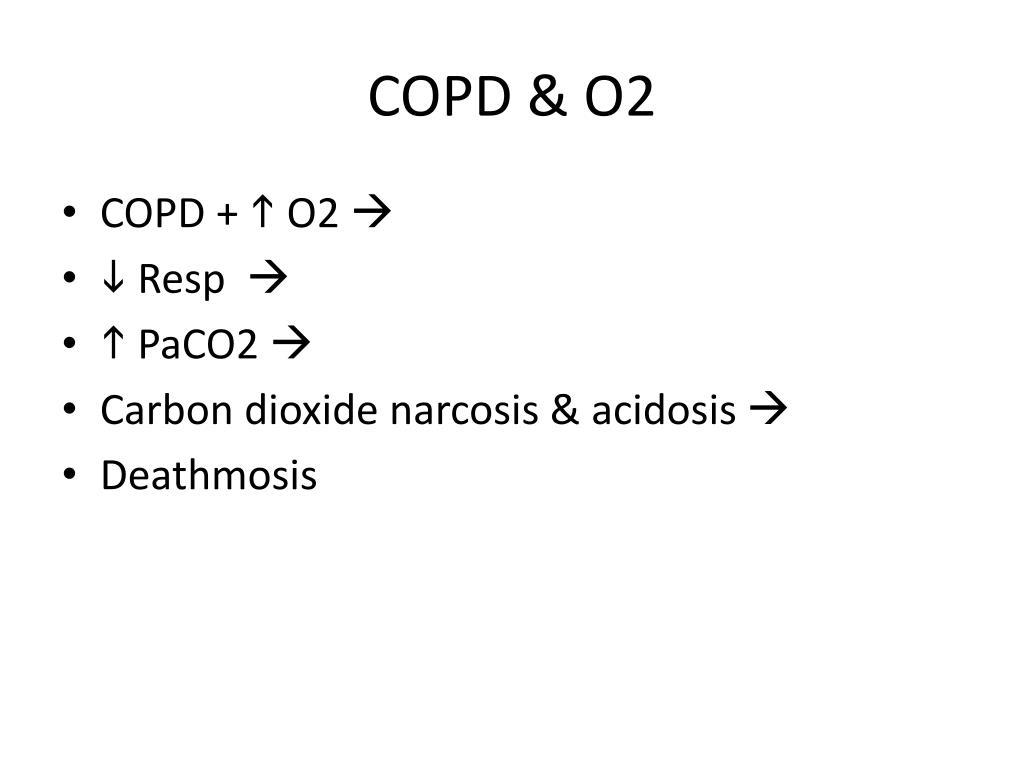 COPD & O2